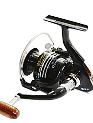 cheap -Fishing Reel Spinning Reel 5.5:1 Gear Ratio+13 Ball Bearings Right-handed / Left-handed / Hand Orientation Exchangable Sea Fishing / Bait Casting / Ice Fishing - BSLGH5000 / Jigging Fishing