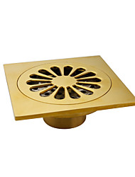 cheap -Drain Neoclassical Brass 1 pc - Hotel bath