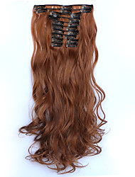 cheap -Clip In Synthetic Hair Extensions Hair Extension