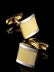 Недорогие -Запонки Классика Подарочные коробки и сумки Мода Брошь Бижутерия Золотой Назначение Для вечеринок Работа / Свадьба