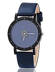 cheap -Women's Wrist Watch Quartz Black / Blue / Yellow Hot Sale Analog Ladies Casual Fashion - Black Dark Blue Yellow
