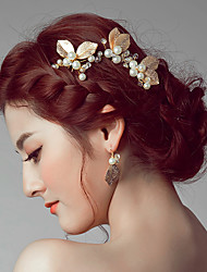 cheap -Alloy Headwear / Hair Clip / Hair Stick with Floral 1pc Wedding / Special Occasion / Casual Headpiece / Hair Pin