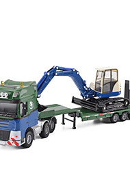 cheap -KDW 1:50 Metalic Excavator Cargo Truck Toy Truck Construction Vehicle Toy Car Kid's Car Toys