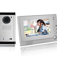 Недорогие -ACTOP VDP-313+CAM-211 Проводное Снято 7 дюймовый Гарнитура Один к одному видео домофона