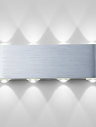 cheap -Modern Contemporary Flush Mount wall Lights Aluminum Wall Light 90-240V 1 W / LED Integrated