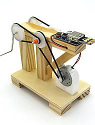 Недорогие -Наборы для моделирования Обучающая игрушка Барабанная установка Своими руками Девочки Игрушки Подарок