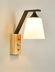 cheap -Modern / Contemporary Wall Lamps & Sconces Bedroom Metal Wall Light 110-120V / 220-240V / E26 / E27