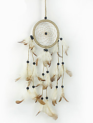 cheap -Handmade Dream Catchers Leather Rustic Home Wall Hanging Decoration