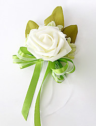 cheap -Wedding Flowers Bouquets / Boutonnieres / Others Wedding / Party / Evening Material / Lace / Satin 0-20cm