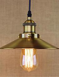 cheap -1-Light 22 cm Mini Style / Designers Pendant Light Metal Electroplated Vintage / Retro / Country 110-120V / 220-240V