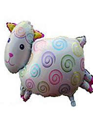Недорогие -Воздушные шары Игрушки Овечья шерсть Надувной Для вечеринок Универсальные 1 Куски