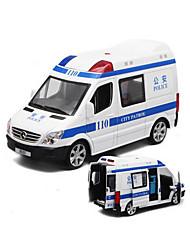 cheap -Toy Car Model Car Police car Ambulance Vehicle Car Simulation Music & Light Boys' Toy Gift