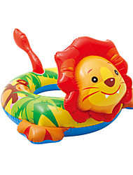 cheap -Inflatable Pool Float Donut Pool Float Inflatable Pool PVC(PolyVinyl Chloride) Summer Lion Pool Kid's Adults'