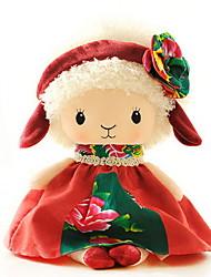 Недорогие -Утка Овечья шерсть Кукла для девочек Милый стиль Милый Мальчики Девочки Идеальный подарок для малышей и малышей / Детские