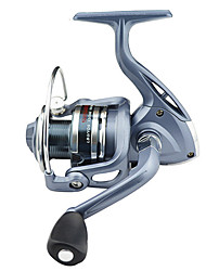 cheap -Fishing Reel Spinning Reel 5.5:1 Gear Ratio+6 Ball Bearings Right-handed / Left-handed / Hand Orientation Exchangable Sea Fishing / Bait Casting / Ice Fishing - BASIC4000 / Jigging Fishing