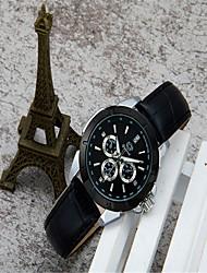 cheap -Women's Fashion Watch Quartz Leather Black / White / Pink Analog Casual - Black Blue Pink