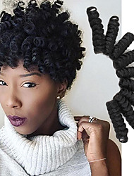 cheap -Crochet Hair Braids Toni Curl Box Braids Ombre Synthetic Hair 10 inch Braiding Hair 20 Roots / Pack Tangle Free / There are 20 roots per pack. Normally five to six packs are enough for a full head.