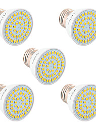 cheap -YWXLight® 5PCS GU10 MR16 E27 5W 54LED Light Bulb 2835SMD LED Spotlight Bulb Lamp for Home Lighting  AC 220V/AC 110V