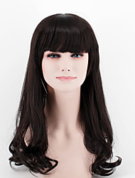 cheap -Synthetic Hair Wigs Wavy Capless Natural Wigs Long