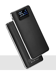 cheap -20000mAh 5V 2A Portable Powerbank Charger Flashlight with LED Smart Digital Display External Battery Charger for Mobile Phone