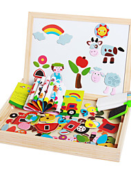 cheap -1 pcs Drawing Toy Drawing Tablet Magnetic Easel Educational Toy Magnetic Kid's Toy Gift
