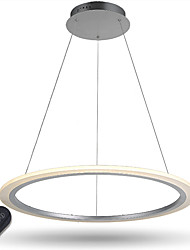 cheap -Pendant Light Ambient Light Electroplated Metal Acrylic Dimmable, LED, Dimmable With Remote Control 110-120V / 220-240V LED Light Source Included / LED Integrated