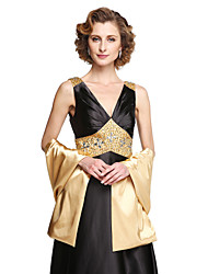 cheap -Shawls Stretch Satin Wedding / Party Evening Women's Wrap With