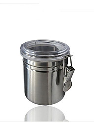 cheap -basekey-cn-mid-anchor-hocking-1-piece-stainless-steel-clamp-canister-set-with-clear-lid-new