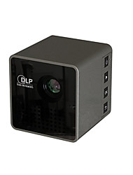 cheap -UNIC DLP LED Projector 30 lm Support 1080P (1920x1080) 4:3 inch / nHD (640x360) / ±15°