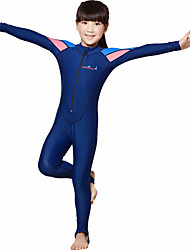 cheap -Dive&Sail Boys' Rash Guard Dive Skin Suit 3mm Spandex Sun Shirt Breathable Quick Dry Anatomic Design Long Sleeve Swimming Diving Classic Spring Summer / Stretchy