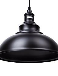 Недорогие -диаметр 29см старинные подвесные светильники 1-светлый металлический оттенок гостиная столовая прихожая освещение
