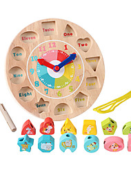 cheap -Building Blocks Educational Toy Toys Circular Pieces Kid's Children's Gift