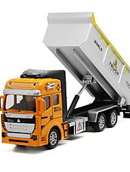 Недорогие -Детские Металлические пластик Самосвал Игрушечные грузовики и строительная техника / Игрушечные машинки Игрушки на солнечных батареях 1: 160