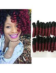 cheap -Braiding Hair Bouncy Curl / Crochet Twist Braids 100% kanekalon hair / Kanekalon 20 roots / pack Hair Braids 100% kanekalon hair