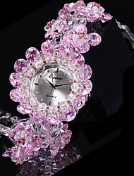 cheap -Women's Fashion Watch Quartz Analog Purple / Jade