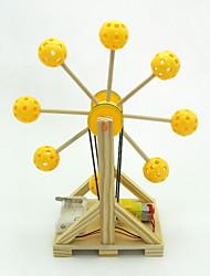 Недорогие -Наборы для моделирования Обучающая игрушка Барабанная установка Колесо обозрения Своими руками Детские Взрослые Мальчики Девочки Игрушки Подарок