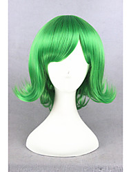 cheap -Cosplay Costume Wig Synthetic Wig Cosplay Wig Straight Straight Wig Short Green Synthetic Hair Women's Green