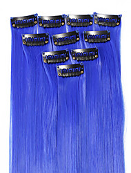 cheap -Neitsi Classic Synthetic Hair 18 inch Hair Extension Clip In 1pack Women's Daily