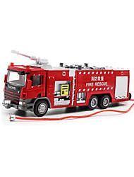 abordables -KDW Véhicule de Construction Camion Camions Incendie Garçon Fille Jouet Cadeau