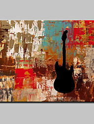 cheap -Hand Painted Modern Abstract Oil Painting On Canvas Memory Instrument Wall Picture For Home Decoration Ready To Hang