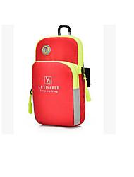 abordables -1L Sac de téléphone portable Etanche Pluie Etanche Vestimentaire Extérieur Rouge Jaune Fuchsia