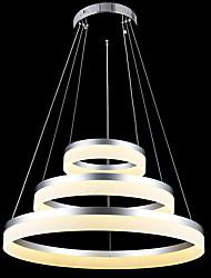 cheap -1-Light 60 cm LED Chandelier Metal Acrylic Circle Others Tiffany / Rustic / Lodge / Vintage 110-120V / 220-240V