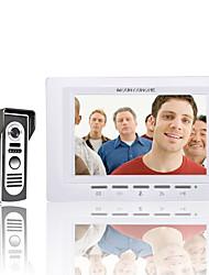 Недорогие -Mountainone 7-дюймовый видеодомофон дверной звонок комплекта интерком 1-камера 1-монитор ночного видения