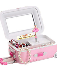 cheap -Music Box Ballerina Music Box Musical Jewellery Box Music Box Dancer Classic & Timeless Lighting Unique Plastic Women's Boys' Girls' Kid's Adults Graduation Gifts Toy Gift