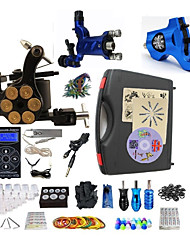 cheap -BaseKey Professional Tattoo Kit Tattoo Machine - 3 pcs Tattoo Machines, Professional Alloy 19 W LED power supply 2 rotary machine liner & shader / 1 alloy machine liner & shader / Case Included