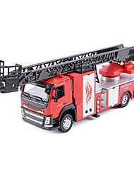 Недорогие -Машинки с инерционным механизмом Пожарная машина Автомобиль Универсальные Игрушки Подарок / Металл