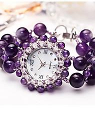 cheap -Women's Fashion Watch Quartz Jade Pink / Purple Analog Purple Pink
