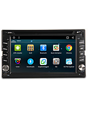 cheap -TH8081GNC 6.2 inch 2 DIN Android6.0 In-Dash Car DVD Player DAB for universal Support / DVD-R / RW / DVD+R / RW / AVI / MPEG4 / CD
