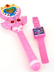 cheap -LED Lighting Plastic Cartoon 2 pcs Toy Gift