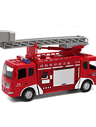 Недорогие -Игрушечные машинки Пожарные машины Музыка и свет Машинки с инерционным механизмом Металлический сплав пластик Металл для Детские